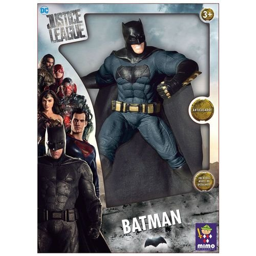 BONECO ARTICULADO BATMAN DC COMICS LIGA DA JUSTIÇA- MIMO