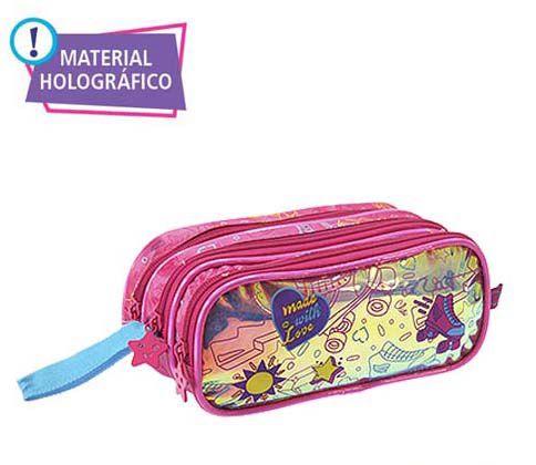ESTOJO TRIPLO HOLOGRÁFICA  CLIO- 9584