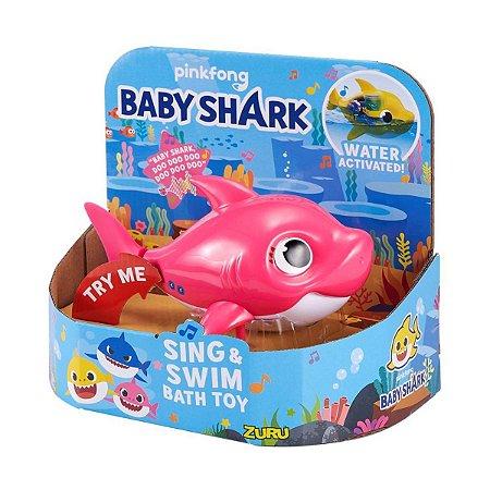 BONECO COM SOM ROBO BABY SHARK ZURU - CANDIDE