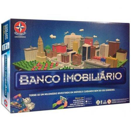 JOGO BANCO IMOBILIARIO ESTRELA- 0019