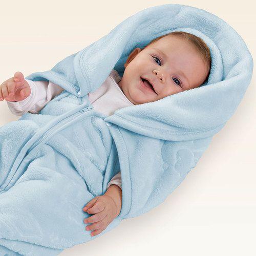 BABY SAC BICICLETA AZUL COM RELEVO  MICROFIBRA JOLITEX