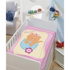 COBERTOR INFANTIL GATINHA TRADICIONAL ROSA  JOLITEX- 4155