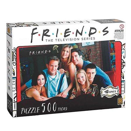 PUZZLE 500 PEÇAS FRIENDS GROW- 3840