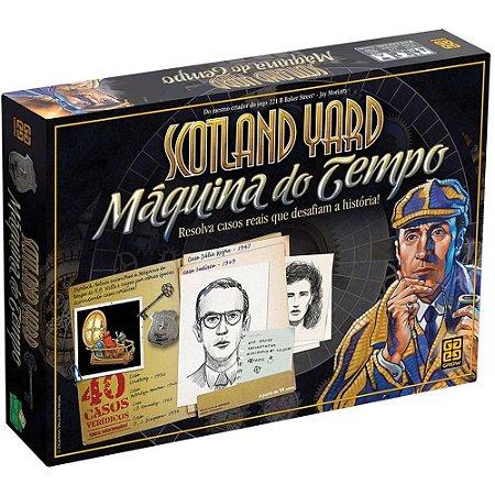 JOGO SCOTLAND YARD MAQUINA DO TEMPO GROW- 3330