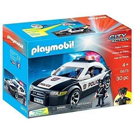 PLAYMOBIL CARRO DE POLÍCIA CITY ACTION 5673