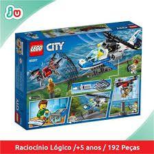 LEGO CITY- PERSEGUIÇÃO  DE DRONE   60207