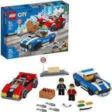 LEGO CITY  DETENÇÃO  POLICIAL  NA  AUTOESTRADA- 60242