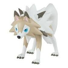POKEMON ACTION FIGURES LYCANROC FORMA GIORNO SUNNY,,,,,,,,,,,,,,,,,,,,,