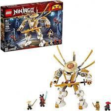 LEGO NINJAGO ROBO  DOURADO- 71702