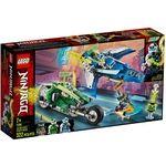 LEGO NINJAGO OS VEICULOS DE CORRIDA DO JAY E DO LLOYD 71709