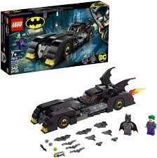 LEGO SUPER HEROES  DC COMICS BATMAN  BATMOVEL  PERSEGUIÇÃO  DO CORINGA  76119