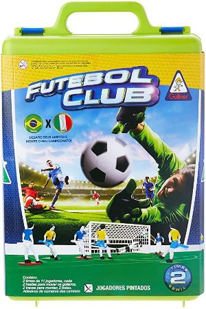 JOGO FUTEBOL CLUB BRASIL X ITALIA GULLIVER