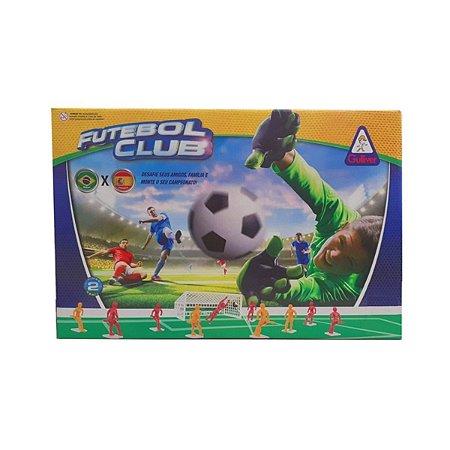 JOGO FUTEBOL CLUB BRASIL X  ESPANHA GULLIVER