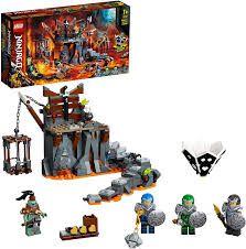 LEGO NINJAGO VIAGEM ATE AS MASMORRAS DAS CAVEIRAS 71717