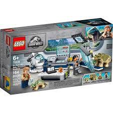 LEGO JURASSIC WORLD LABORATÓRIO DO DR. WU 75939