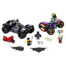 LEGO DC COMICS PERSEGUIÇÃO DO TRICICLO DO JOKER- 76159