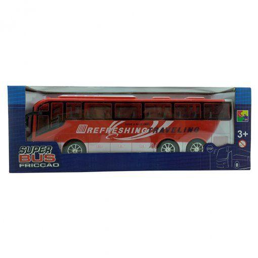 ONIBUS SUPER BUS A FRICÇÃO VERMELHO CKS- 828