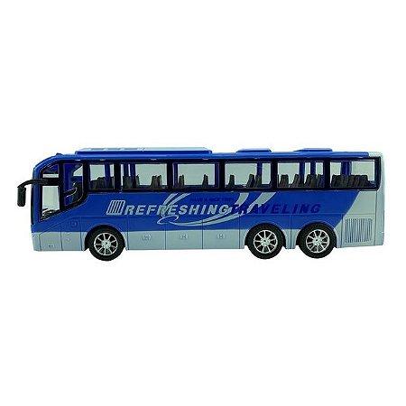 ONIBUS SUPER BUS A FRICÇÃO AZUL CKS- 828