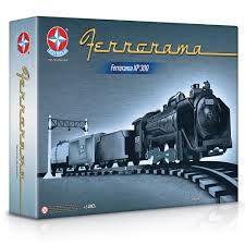 BRINQUEDO TREM FERRORAMA ELÉTRICO XP 300 ESTRELA-0004