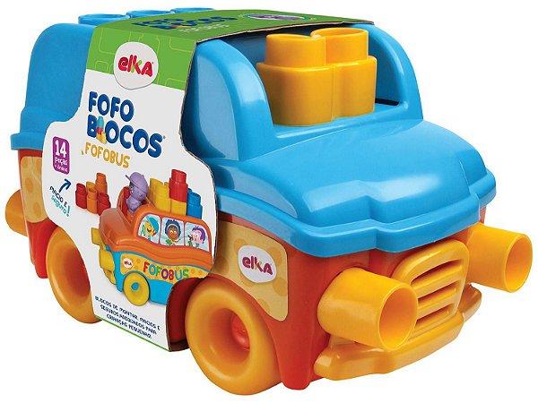 FOFOBUS FOFO BLOCOS 14 PEÇAS ELKA- 1089