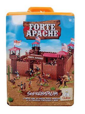 BRINQUEDO MALETA FORTE APACHE SUPER BATALHA PINTADOS 0063