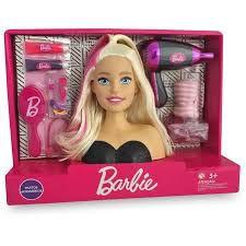 BUSTO DA BONECA BARBIE STYLING HAIR COM SECADOR - PUPEE 1264