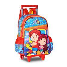 MOCHILA INFANTIL COM RODINHAS MARIA CLARA E JP - CLIO STYLE