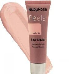 BASE LIQUIDA FEELS COOKIE 60 TEXTURA MOUSSE RUBY ROSE