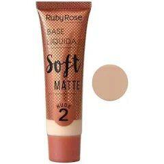 BASE LIQUIDA SOFT MATTE RUBY ROSE  CHOCOLATE 2  - HB 8050