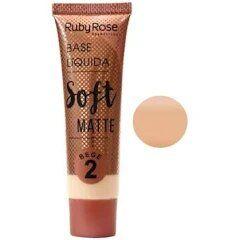 BASE LIQUIDA SOFT MATTE RUBY ROSE  BEGE 2 - HB 8050