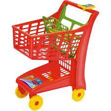 CARRINHO Market Vermelho Magic Toys  - 872