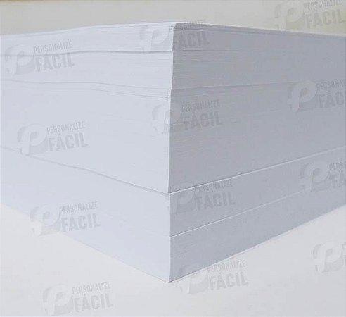 Papel Offset A5 240g Sulfite 240gr Branco 500 Folhas 14,8x21 cm Para Jato de Tinta Ou Laser