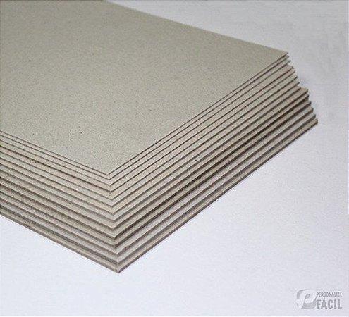 Papelão Tipo Holler A5 Papel Cartão Paraná 100 Placas p/ capa de agenda