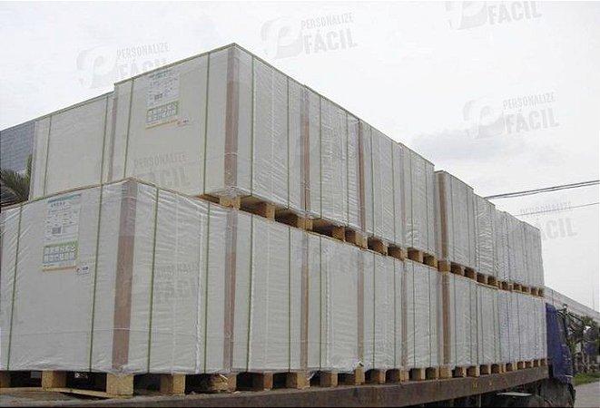 Papel Cartão Duplex 250g A3 Branco Frente e Verso Kraft 100 Folhas 42x29,7 cm