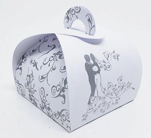 150 Embalagem De Bem Casado Caixa Caixinha P/ Casamento Doce