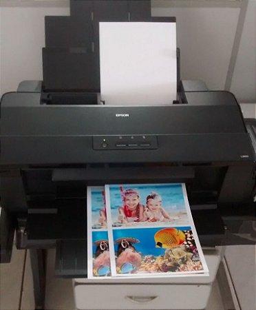 100 Papel Fotográfico A4 Foto 180g Gloss Paper Brilho 180 Gr