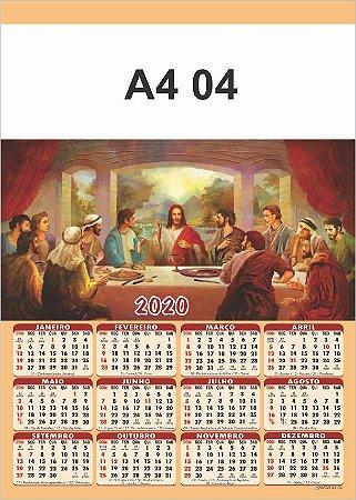 100 Calendários Folhinha De Parede 2020 Para Personalizar Religiosa