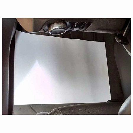 500 Tapete De Papel Automotivo Carro Lava Jato Oferta Branco