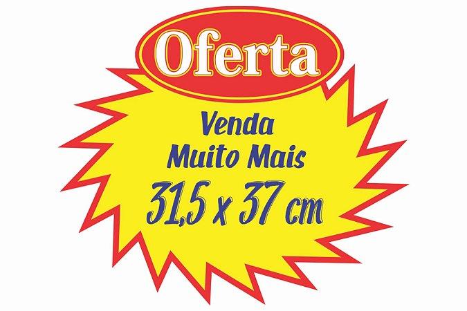 100 Cartaz Splash Oferta Promoção 31,5x37 Supermercado