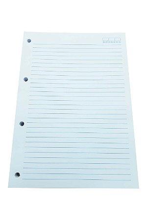 400 Refil De Caderno Argolado Universitário 4 Furos Fichário