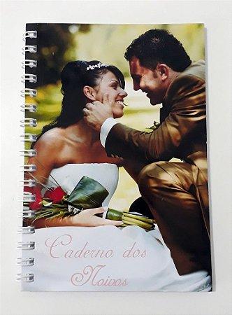 30 Agendinha Personalizada Pequena 10x15 Lembrancinha De Casamento