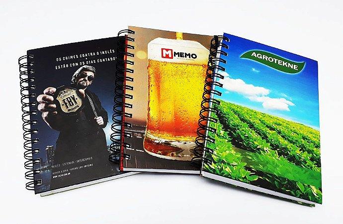 20 Cadernos Personalizado Empresas Corporativo Logo