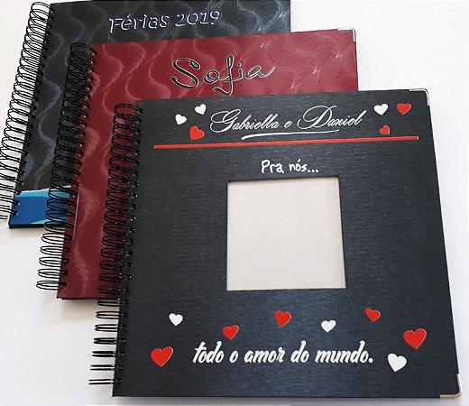 Album Foto Personalizado Casamento Bodas Viagem Scrapbook 33x32