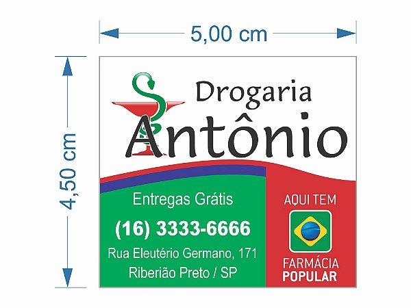 2000 Ímã Geladeira Personalizado Disk Água Gás Entrega Farma