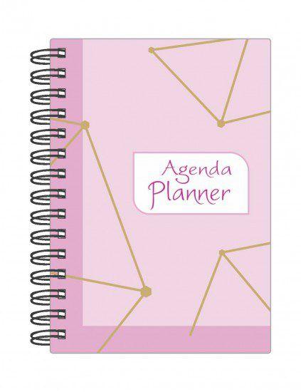 Agenda Permanente Mensal Planner de Planejamento Anual