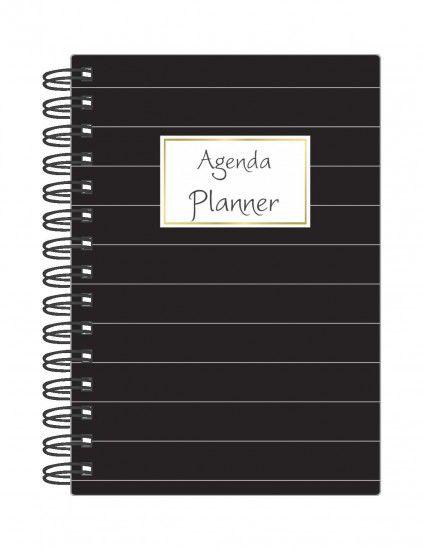 Agenda Planner Mensal Planejamento Anual Permanente