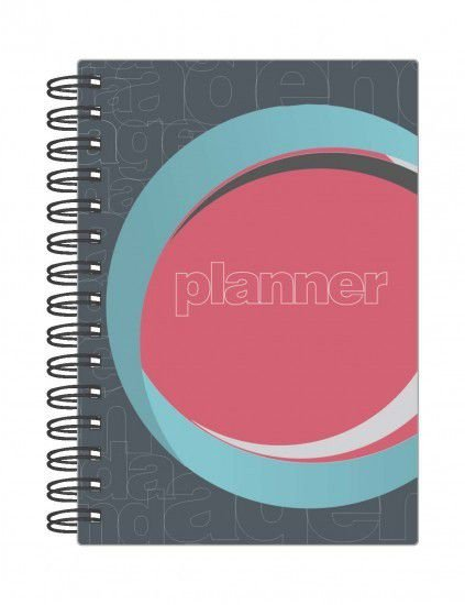 Agenda Planner Permanente Planejamento Mensal  Anual