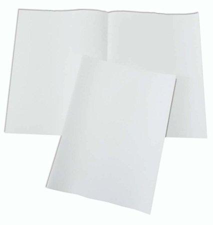 Papel Almaço Sem Pauta A4 Branco Liso 20x27,5 Com 200 Folhas
