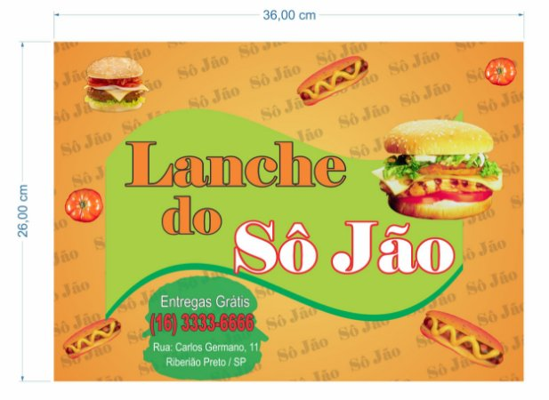 1000 Toalha Personalizada Papel Forro Para Bandeja Fast Food