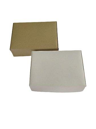 10 Embalagens Para Presente Em Papel Duplex  25,5x18x6